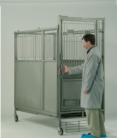 Dog kennels with a modular design to house other laboratory