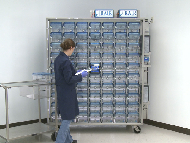 Rair Hd Ventilated Racks And Cages Laboratory Rodent