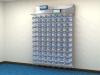 RAIR IsoSystem™ Wall Mounted Ventilated Racks