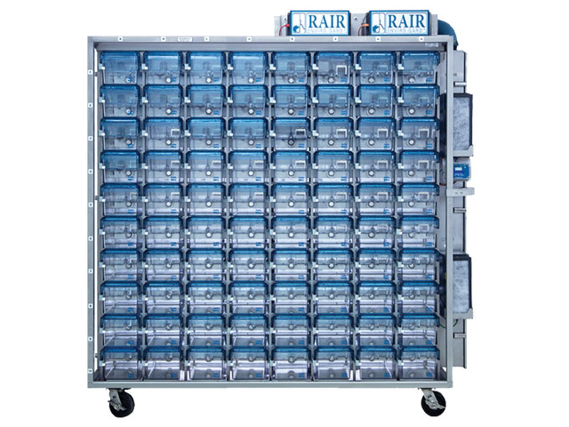 Super Mouse 750™ Ventilated Racks and Cages